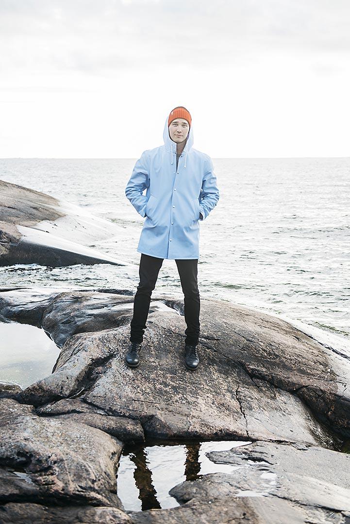 Isletter Valtteri Nikunen. Kuvaaja Heli Hirvelä.