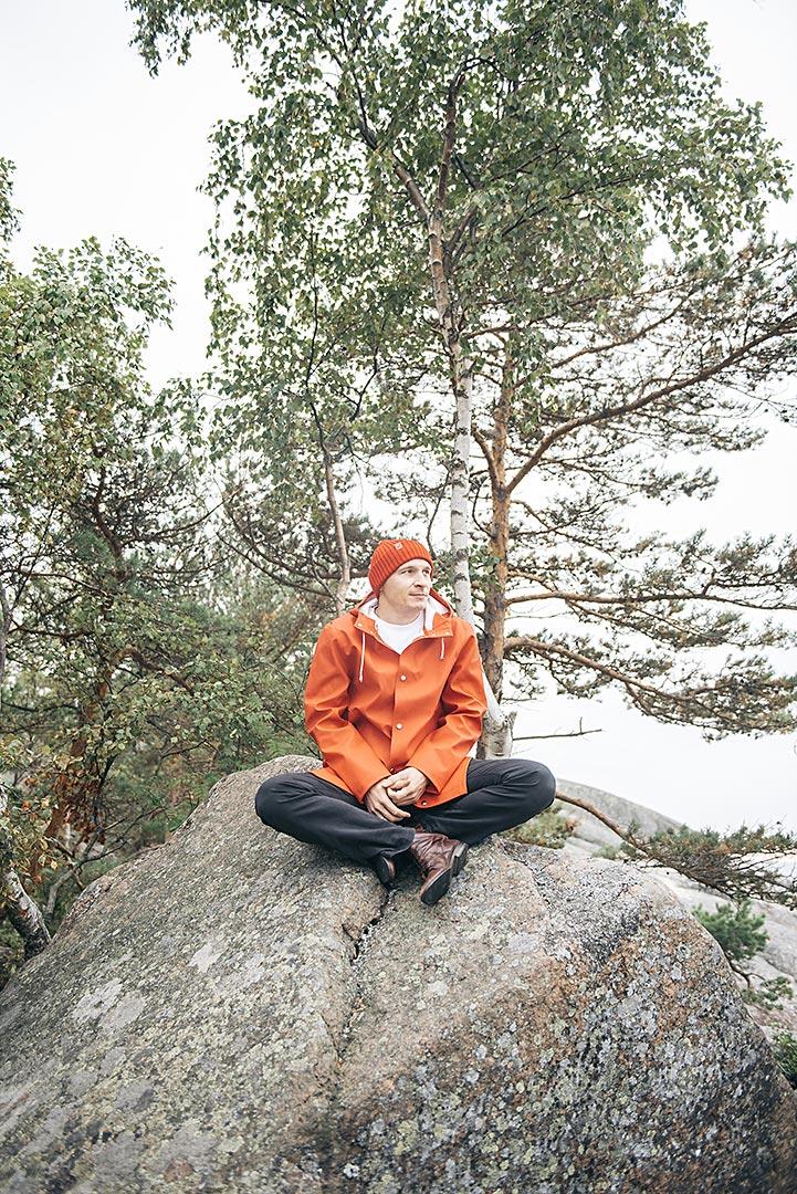 Isletter Janos Sinko. Kuvaaja Heli Hirvelä.