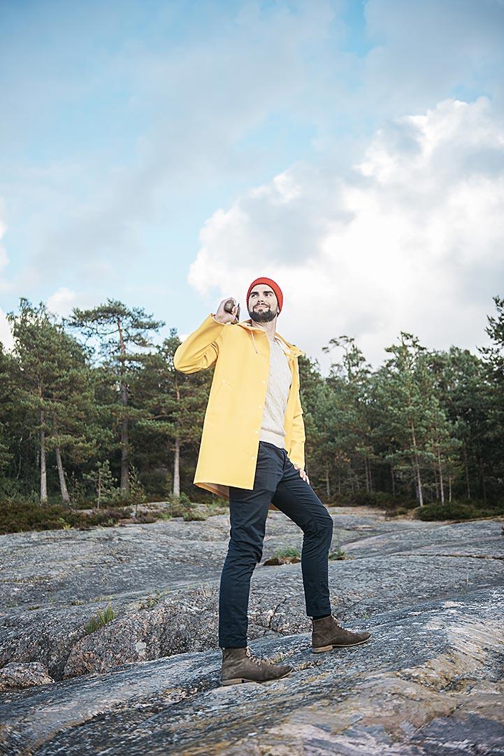 Isletter Otso Tolonen. Kuvaaja Heli Hirvelä.
