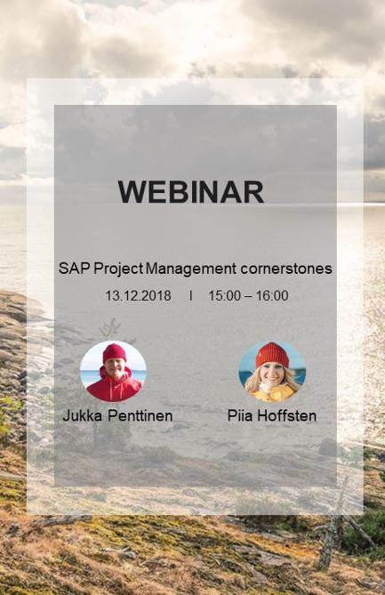 WEBINAR: SAP Project Management corner stones