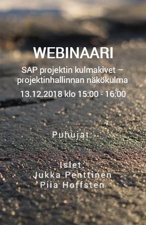 WEBINAARI: SAP projektinhallinnan kulmakivet