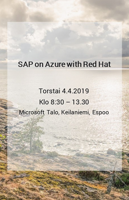 SAP on Azure with Red Hat