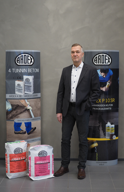 Ardex counts on Isletter to your team Insourcing service