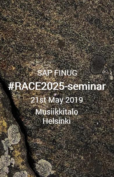 SAP FINUG #RACE2025-seminar at Musiikkitalo