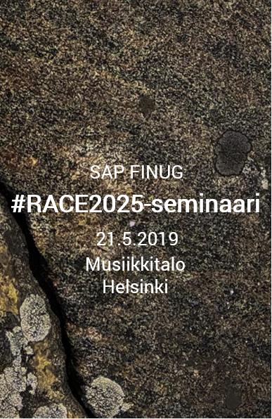 SAP FINUG #RACE2025-seminaari Musiikkitalolla