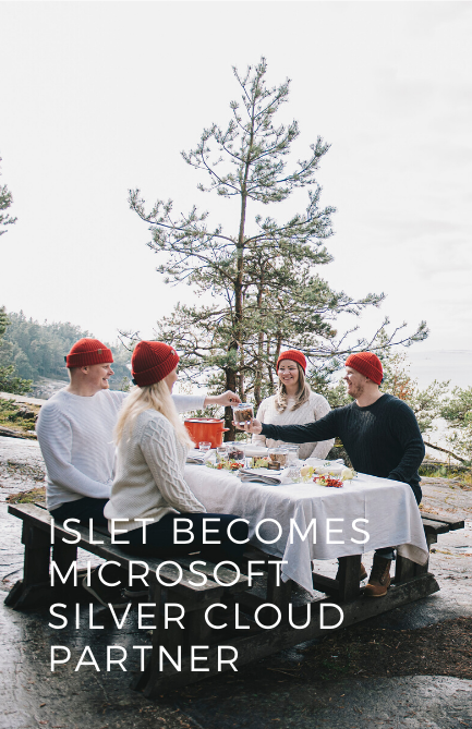 Islet Group becomes a Microsoft Silver Cloud Partner