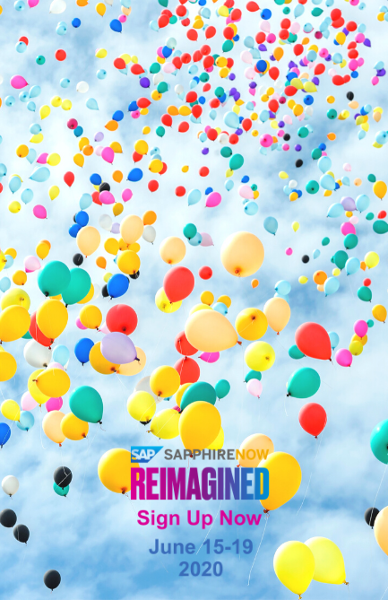 Welcome to SAPPHIRE NOW Reimagined, 15-18 June