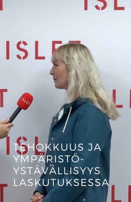 Sari Oinonen: Tehokkuus ja ympäristöystävällisyys jyräävät laskutuksessa