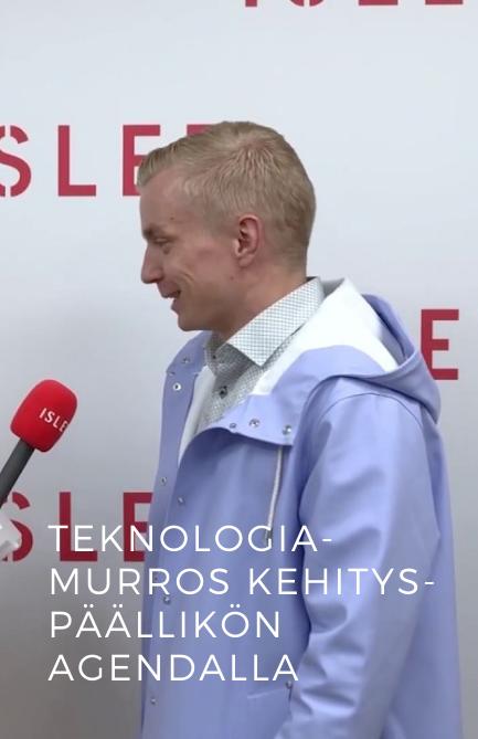 Juha Luukkola: Teknologiamurros kehityspäällikön agendalla
