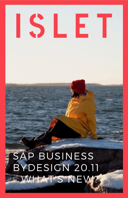 SAP Business ByDesign 20.11 – What's new?