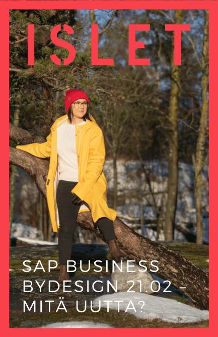 SAP Business ByDesign 21.02 – Mitä uutta?