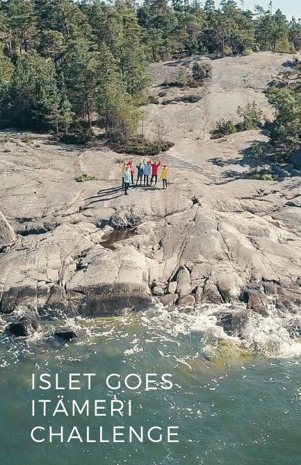 Join #IsletGoesItämeri challenge for the Baltic Sea