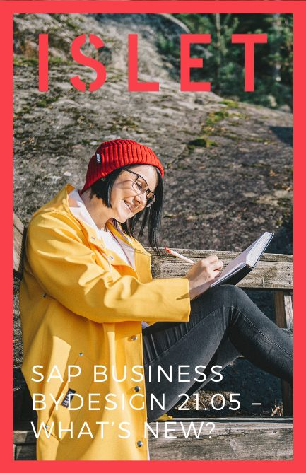 SAP Business ByDesign 21.05 – What's new?