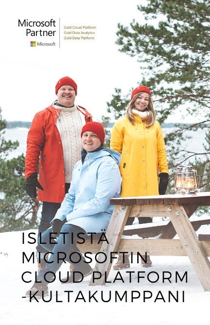Isletistä Microsoftin Cloud Platform -kultakumppani
