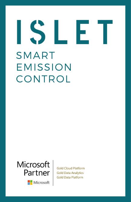 Islet paketoi päästösovelluksen käyttöönoton: SMART EMISSION CONTROL